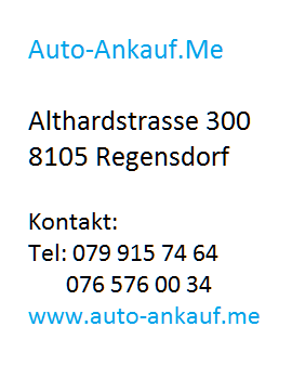 Automobile Ankauf